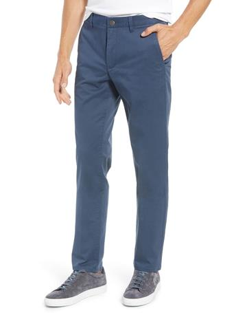 BONOBOS - Stretch Washed Chinos STEELY