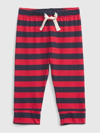 GAP - Baby Mix and Match Stripe Pull-On Pants MODERN RED