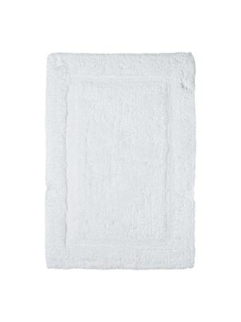 MARINER COTTON - Racetrack Cotton Bath Mat WHITE