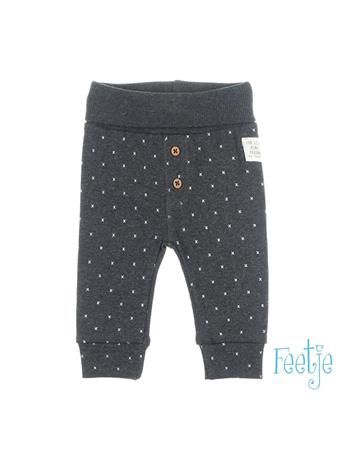 FEETJE - MINI PERSON Allover Print Pull-On Pant GREY