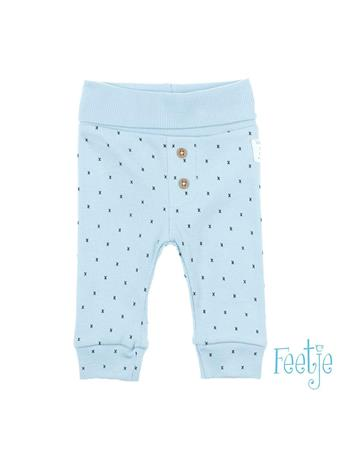 FEETJE - MINI PERSON Allover Print Pull-On Pant BLUE