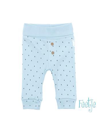 FEETJE - MINI PERSON Allover Print Pull-On Pant BLUE