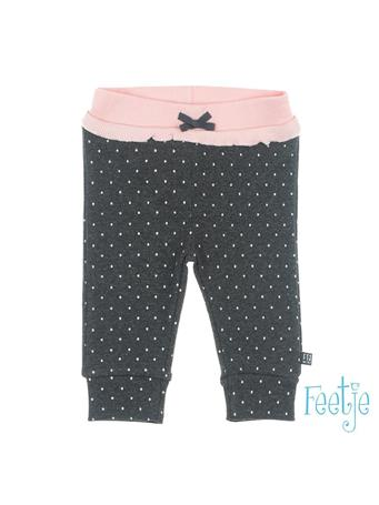 FEETJE - DOTS Allover Print Pull-On Pant GREY