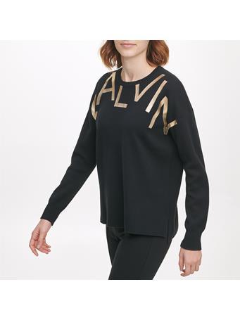 CALVIN KLEIN - Logo Sweatshirt BLK