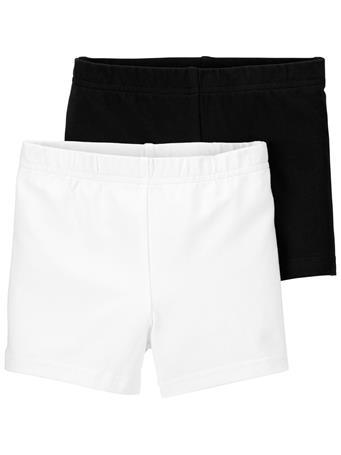 CARTER'S - 2-Pack Tumbling Shorts BLACK