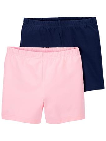 CARTER'S - 2-Pack Tumbling Shorts PINK