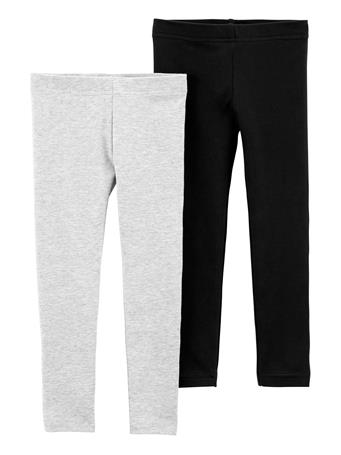 CARTER'S - 2-Pack Leggings BLACK