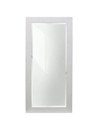 STYLE CRAFT - Mirror White Wood Frame 64X32 WHITE