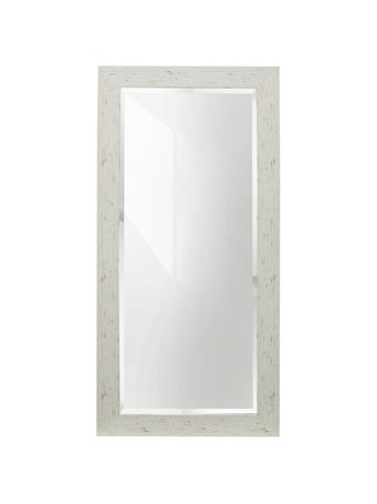 STYLE CRAFT - Mirror Off White Wood Frame 64X32 OFF WHITE
