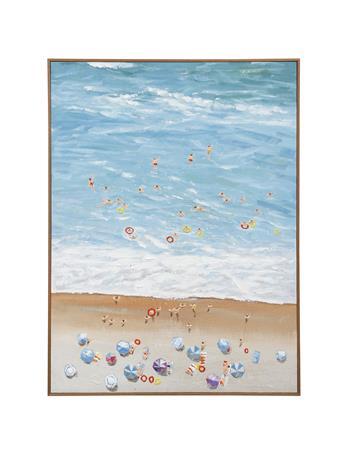 STYLE CRAFT - Art Framed Spring Break 36X48 BLUE