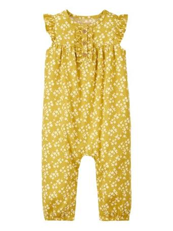 CARTER'S - Floral Jumpsuit YELLOW