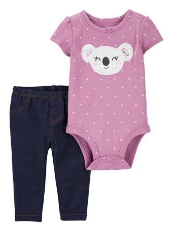 CARTER'S - 2-Piece Koala Bodysuit Pant Set NOVELTY