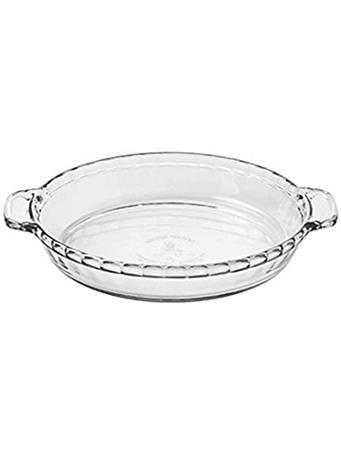 ANCHOR HOCKING - Pie Plate  No Color