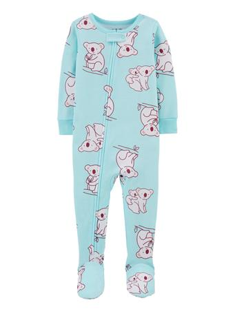 CARTER'S - 1-Piece Koala 100% Snug Fit Cotton Footie PJs NOVELTY