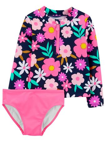 CARTER'S - Carter's Floral 2-Piece Rashguard Set NOVELTY