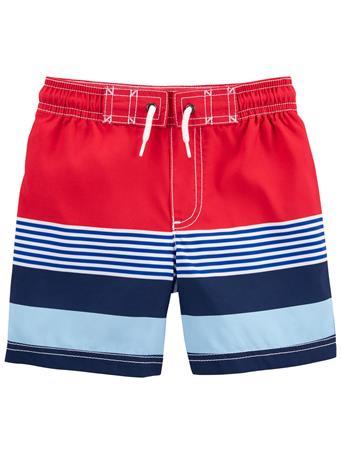 CARTER'S - Striped Swim Trunks NOVELTY