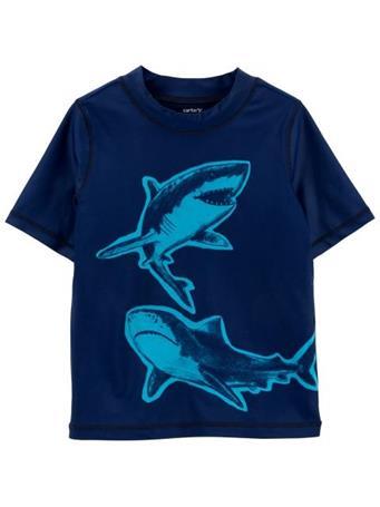 CARTER'S - Carters Shark Rashguard NOVELTY