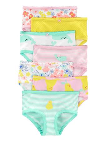 CARTER'S - 7-Pack Stretch Cotton Undies NOVELTY