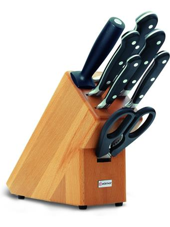 WUSTHOF - Classic Knife Block 7 Piece (Beechwood) No Color