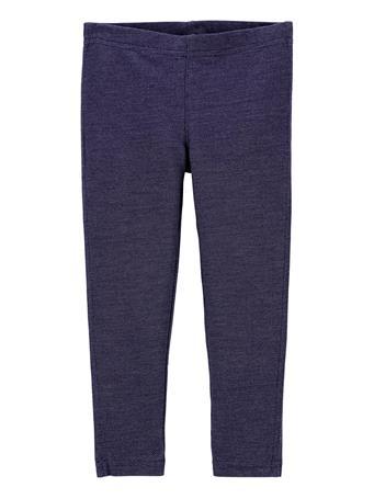 CARTER'S - Knit Denim Leggings BLUE