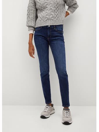 MANGO - Kim Skinny Push-up Jeans NAVY