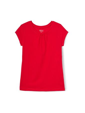 FRENCH TOAST - Short Sleeve Solid Crew Tee  RED