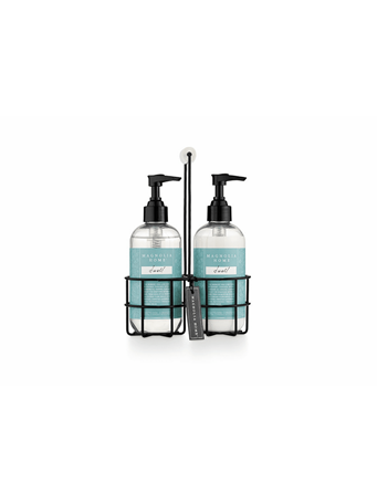 MAGNOLIA HOME - Sink Set Caddy Hand Wash & Lotion - Dwell No Color