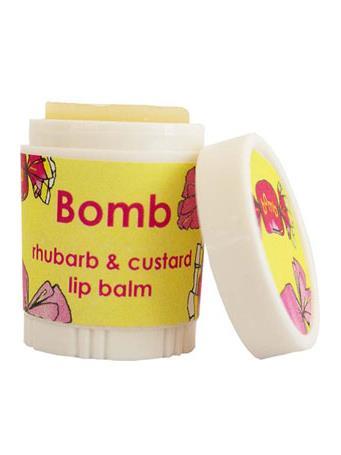 BOMB - Rhubarb & Custard Lip Balm No Color