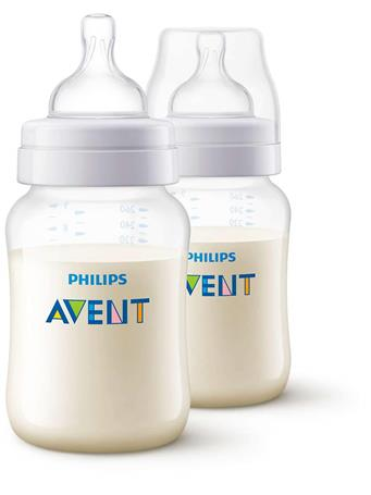 AVENT - 9 OZ 2 Pack BPA Free Bottles No Color
