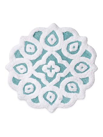 PERI HOME - Capris Medallion Bath Rug BLUE