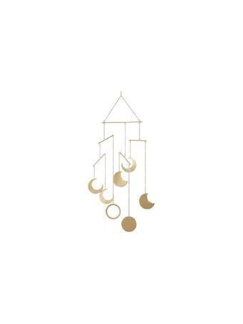 UMA INC. - Gold Iron Eclectic Wind Chime GOLD