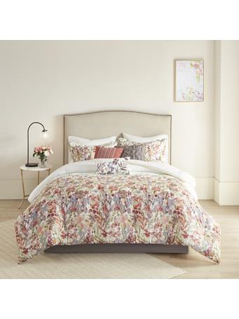 MADISON PARK  -  Mariana 7 Piece Printed Comforter Set MULTI