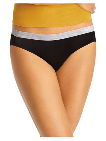HANES - Cool Comfort® Women's Cotton Sporty Bikini 6-Pack ASST