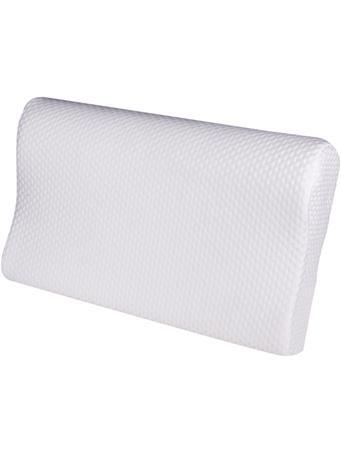 KASHI - Memory Foam Contour pillow WHITE