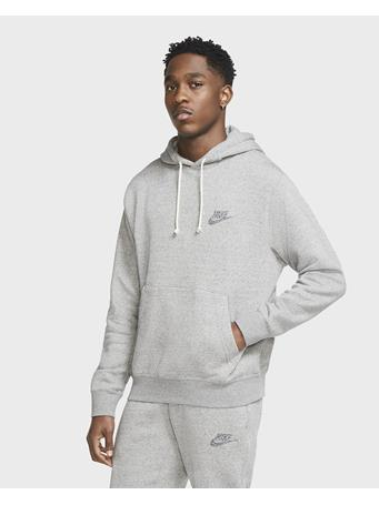 NIKE - Men's Nike Sportswear Club Pullover Hoodie Regrind MULTI-COLOR/BLACK/(MLTCLR)