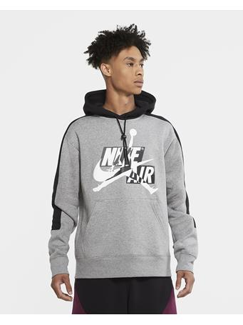 NIKE - Men's Jordan Jumpman Classic Fleece Hoodie CARBON HTR