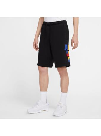 NIKE - Men's Nike Sportswear Just Do It Fleece Shorts BLACK