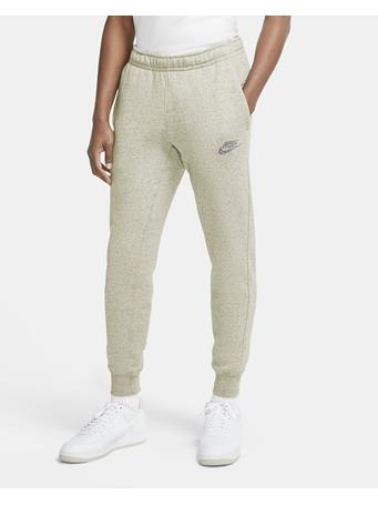 NIKE - Men's Nike Sportswear Club Pant Regrind Logo WHITE