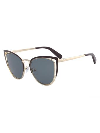 SALVATORE FERRAGAMO - Cat Eye Sunglasses BLACK