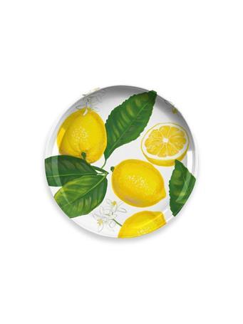 TARHONG - Lemon Fresh Salad Plate YELLOW