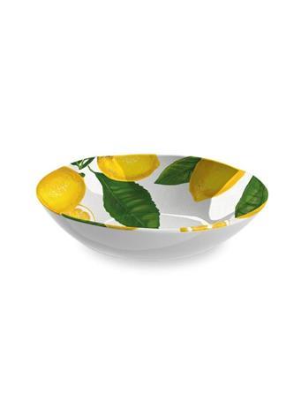 TARHONG - Lemon Fresh Serve Bowl YELLOW
