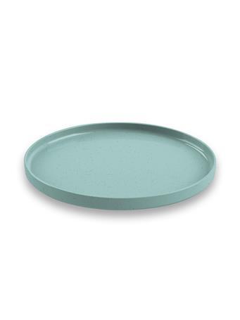 TARHONG - Palermo Bamboo Salad Plate TEAL
