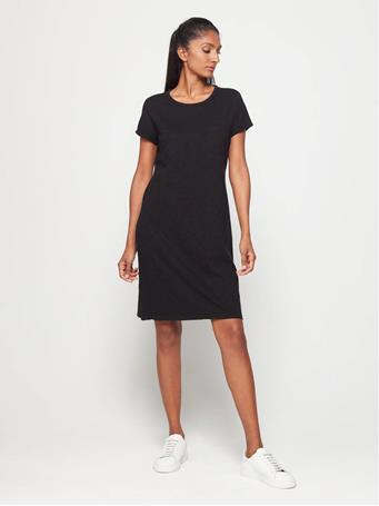 GAP - Pocket T-Shirt Dress TRUE BLACK V2 2