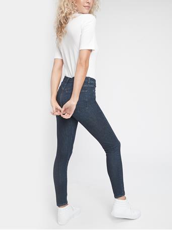 GAP - High Rise Skinny Jeans with Secret Smoothing Pockets DARK INDIGO V2
