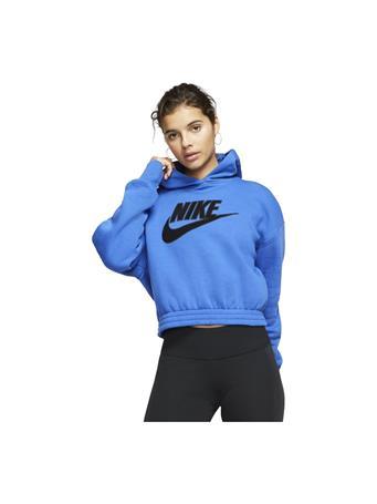 NIKE - Long Sleeve Fleece Hoodie ROYAL BLUE