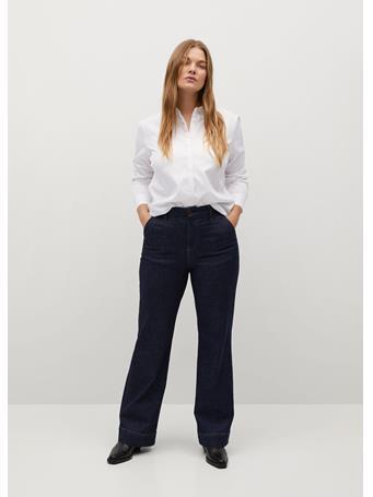 VIOLETA - Oxford Shirt WHITE