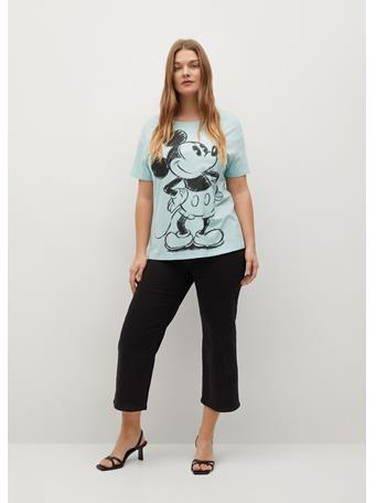 VIOLETA - Mickey Mouse T-shirt AQUA
