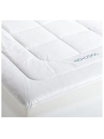 SLEEP BETTER - Iso-Cool Mattress Pad WHITE