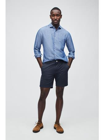 BONOBOS -Stretch Washed Chino Short 9 Inch JET BLUES