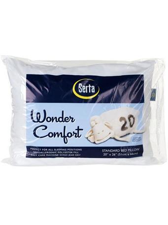 SERTA - Wonder Comfort Pillow No Color